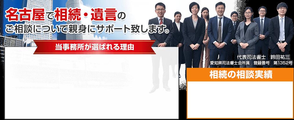 名古屋で相続・遺言のご相談について親身にサポート致します。